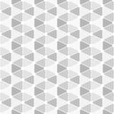 小灰色三角无缝的背景 库存图片