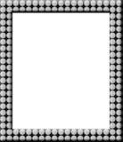 小点框架短上衣 免版税库存照片