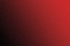 黑小点背景在红色背景的 免版税库存图片