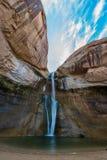 小牛小河秋天,小牛小河峡谷,盛大楼梯埃斯卡兰蒂N 库存图片