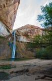 小牛小河秋天,小牛小河峡谷,盛大楼梯埃斯卡兰蒂N 库存照片