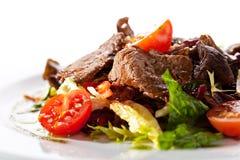 小牛肉沙拉 免版税库存图片