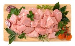 小牛肉炖煮的食物 免版税库存图片