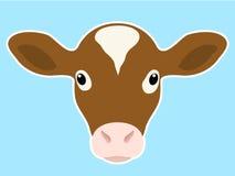 小牛题头 图库摄影