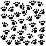 小狗背景 向量例证