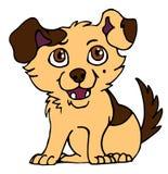 2小狗 免版税库存图片