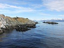 小猎犬海峡-乌斯怀亚,阿根廷 库存照片