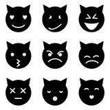 小猫面对情感 免版税库存照片