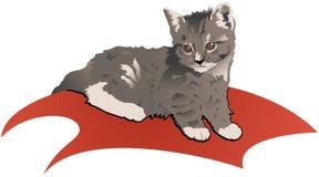 小猫 向量例证