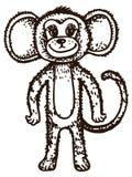 小猿 免版税库存照片