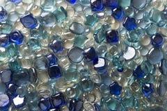 小珠多色的玻璃 免版税库存照片