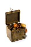 小珠木配件箱的方式 图库摄影