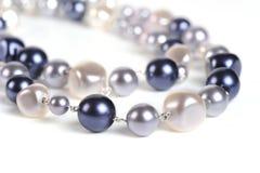小珠珍珠 免版税库存照片