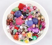 小珠碗按钮 库存图片