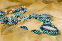 小珠装饰品 库存照片