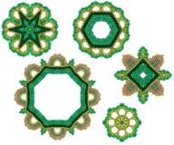 小珠颜色装饰物春天 免版税库存照片