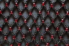 小珠首饰设计 免版税库存照片
