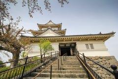 小田原城堡,神奈川县,日本 图库摄影