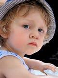 儿童的眼睛 库存照片