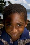 小男孩在马达加斯加 库存图片