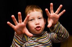 小男孩 免版税图库摄影
