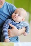 小男婴 免版税库存照片