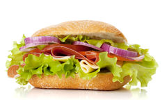 小的三明治 库存照片