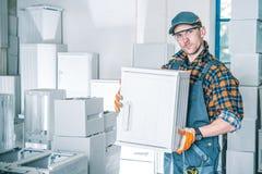 小的业务责任人 免版税库存图片