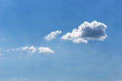 小的云彩 库存照片