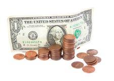小的储款。 免版税库存照片