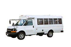 小的公共汽车 免版税图库摄影