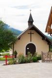 小的农村教会 免版税图库摄影