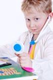 小的医生纵向 图库摄影
