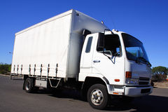 小的卡车 免版税库存图片