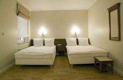 小的卧室 免版税库存照片