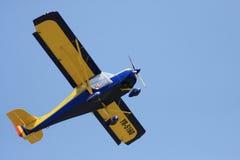 小的双翼飞机 库存照片