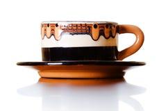 小的咖啡杯 免版税库存照片