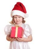小的圣诞老人 库存照片