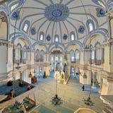 小的圣索非亚大教堂的内部在伊斯坦布尔,土耳其 免版税图库摄影