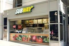 小的地铁餐馆 免版税图库摄影