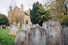 小的墓地 免版税库存图片