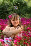 小的女孩 库存图片