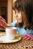 小的女孩 免版税库存图片