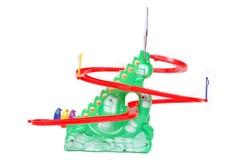小的子项的塑料玩具 库存图片