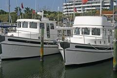 小的小船 免版税库存图片