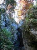 小的岩石谷 免版税图库摄影