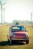 小的意大利汽车 图库摄影