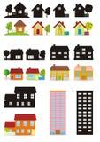 小的房子 向量例证