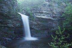小的斜纹布国家公园Cedar Falls锡达克里克 免版税库存图片