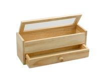 小的木机柜 库存照片